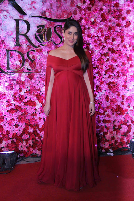 kareen kapoor at Lux golden rose Awards