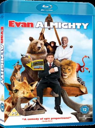 Evan Almighty 2007 Movie Free Download 720p BluRay DualAudio