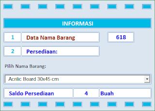 Aplikasi Persediaan Format Kementerian Keuangan