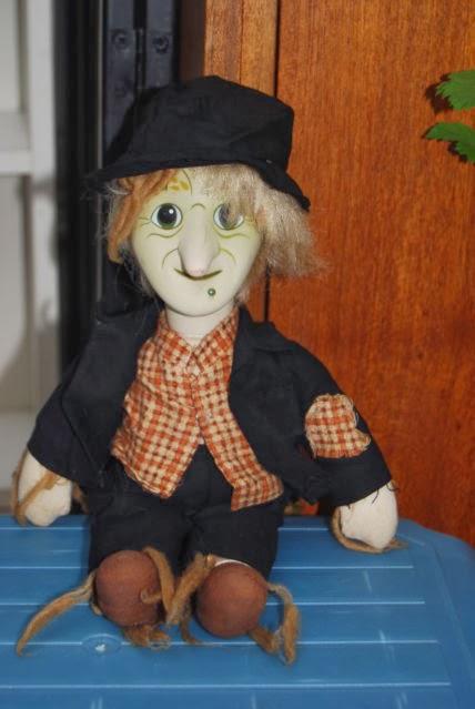 Worzel Gummidge de rechange Heads Anut Sally Bendy Toys Pertwee Scarecrow scatterbrook