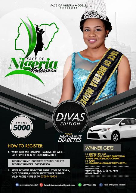 FACE OF NIGERIA MODELS/FASHION RUNWAY