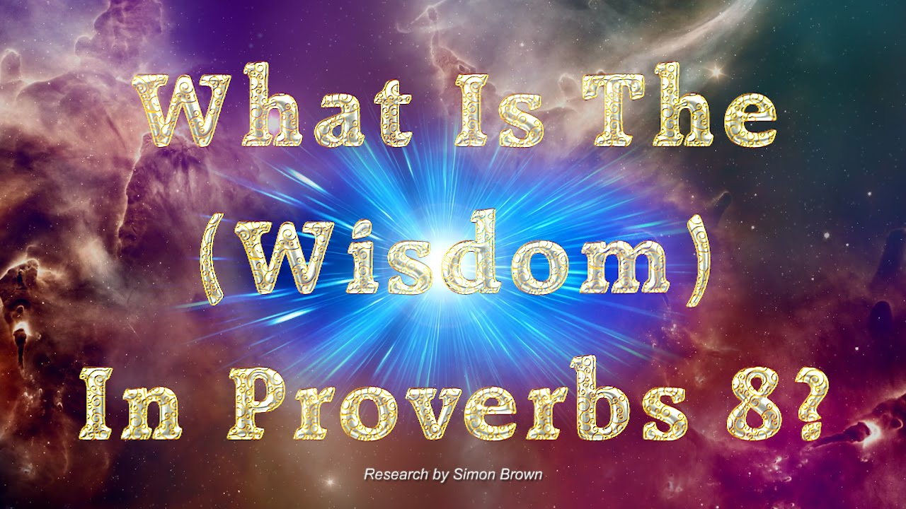 What Is The (Wisdom) In Proverbs 8?