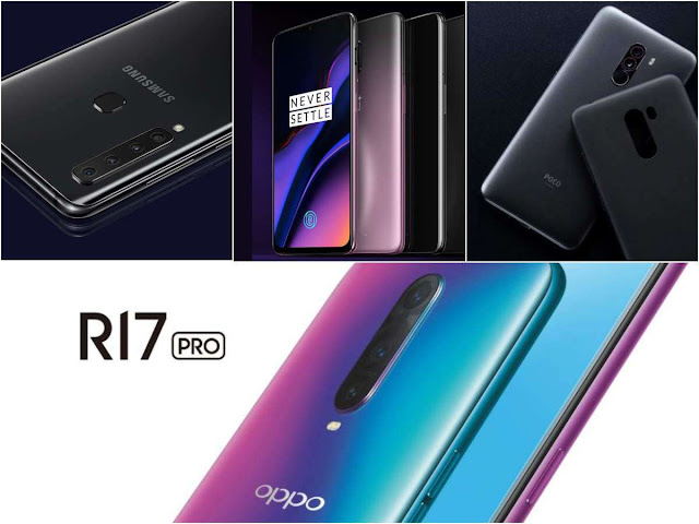 Oppo R17 Pro vs Samsung Galaxy A9 (2018) vs OnePlus 6T vs Xiaomi Poco F1: Which is the most 'powerful' smartphone, oppo f9 pro,vivo v11 pro vs samsung galaxy a9 speed test,oppo r17 pro,vivo v11 pro vs samsung galaxy a9 vs poco f1,oppo r17 pro vs samsung galaxy a7 2018,oppo f9 pro vs vivo v11 pro camera,oppo f9 pro vs vivo v11 pro,samsung galaxy a7 2018 vs oppo r17 pro,oppo r17 pro vs samsung galaxy note 9 camera test,oneplus 6t,samsung galaxy a7 2018 vs poco f1