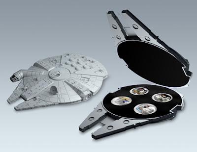 Star Wars Millenium Falcon Coin Set Lunaticg Coin