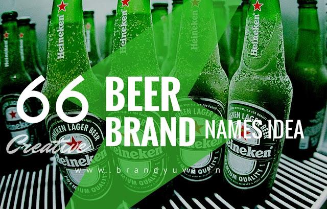 beer brand names idea