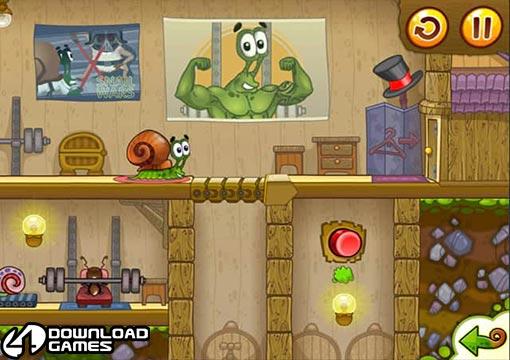 لعبة الحلزون بوب Snail Bob 2 تحميل سهل وسريع مجانا
