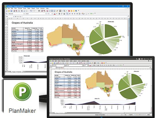 برنامج PlanMaker