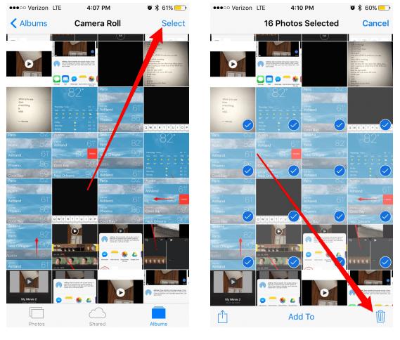 Cara Menghapus Banyak Foto Di iPhone Dan iPad