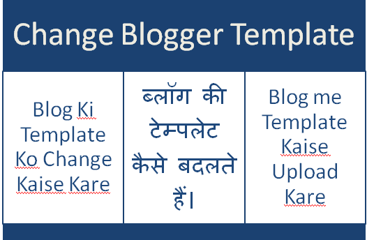 Blogger-Blog-Ki-Templat-Ko-Change-Or-Upload-Kaise-Kare
