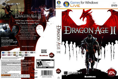 Dragon Age 2 PC DVD Capa