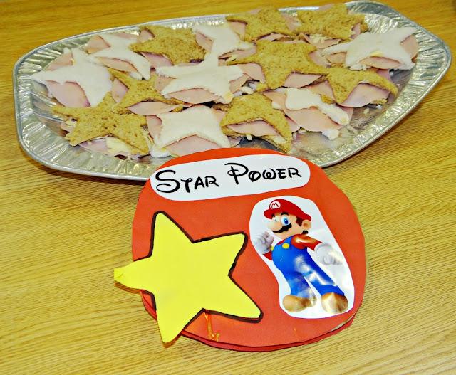 Mario Star Power Sandwiches