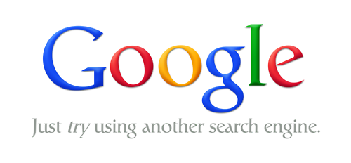 Google - just try using another search engine