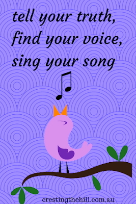 Midlife is the time to tell your truth find your voice sing your song
