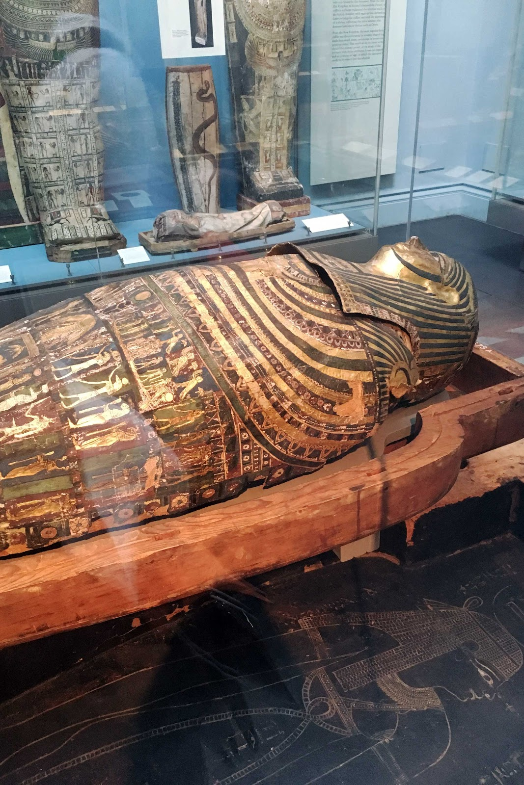 London, british museum, mummy
