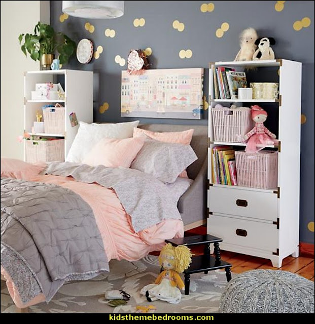 Girls furniture Girls bedding  and fun decor