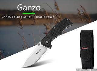 Ganzo G722 heavy duty frame-lock folder