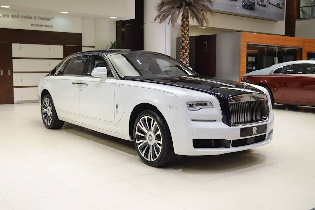 Rolls-Royce Ghost EWB 'Inspired by Private Jet'