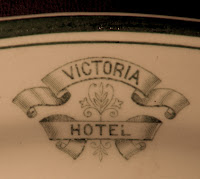Teller aus Victoria Hotel Fort William