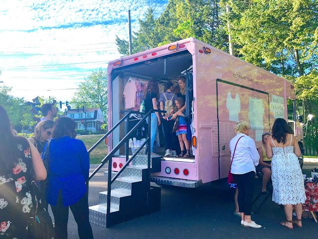 The Loft Girls Launch Fashion Mobile Boutique