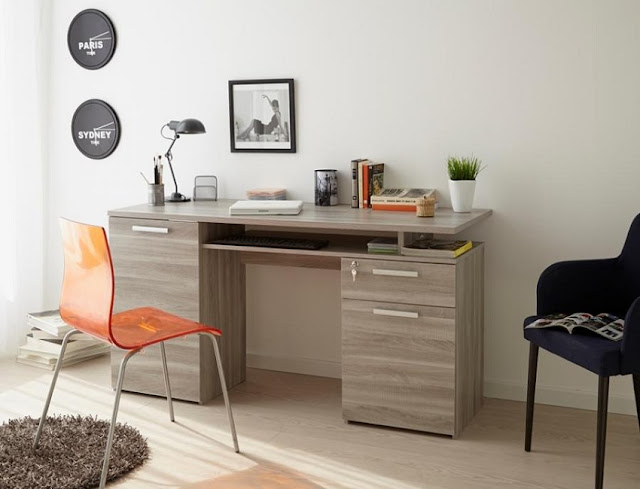 best buy modern home office desk Edmonton for small spaces sale
