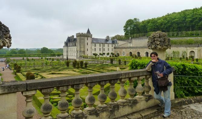 Castillo y jardines de Villandry.