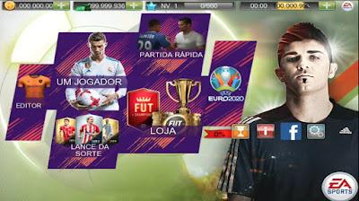 Hallo teman semuanya selamat malam para gamers diseluruh dunia dimanapun Anda berada Real Football 2019 MOD APK+DATA Update 2018 Tim BRAZIL A 100% Work!