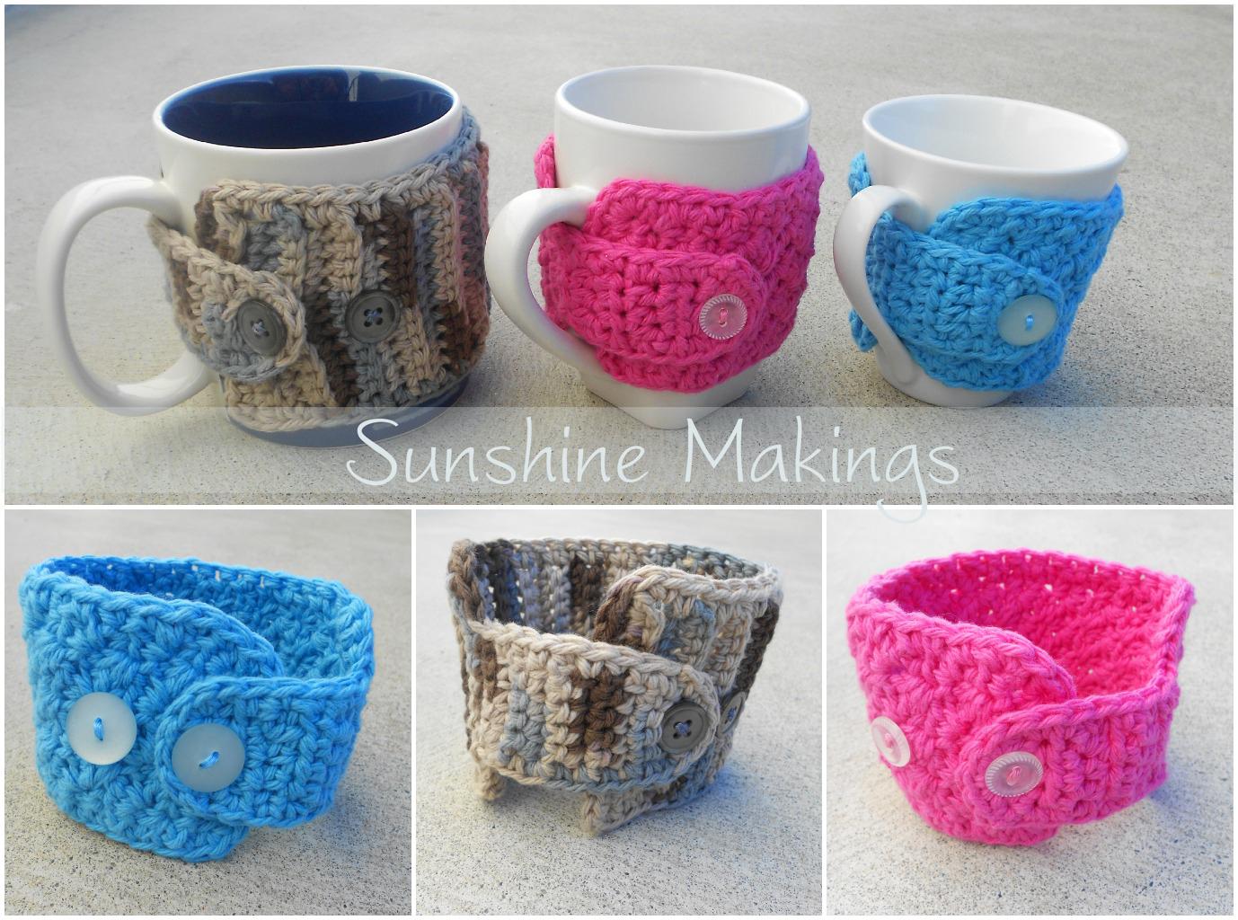 Coffee Mug Cosies : Sunshine Makings
