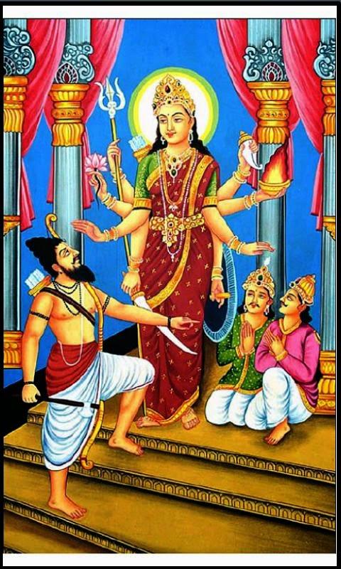 Maa Vaishno Devi Hd Wallpaper Hinglaj Mata Junglekey In Image