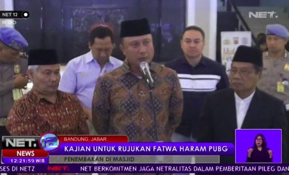 Fatwa haram pubg yang direncanakan MIUI Jawa barat Fatwa haram pubg yang dikaji MUI Jawa barat, berikut ucapnya
