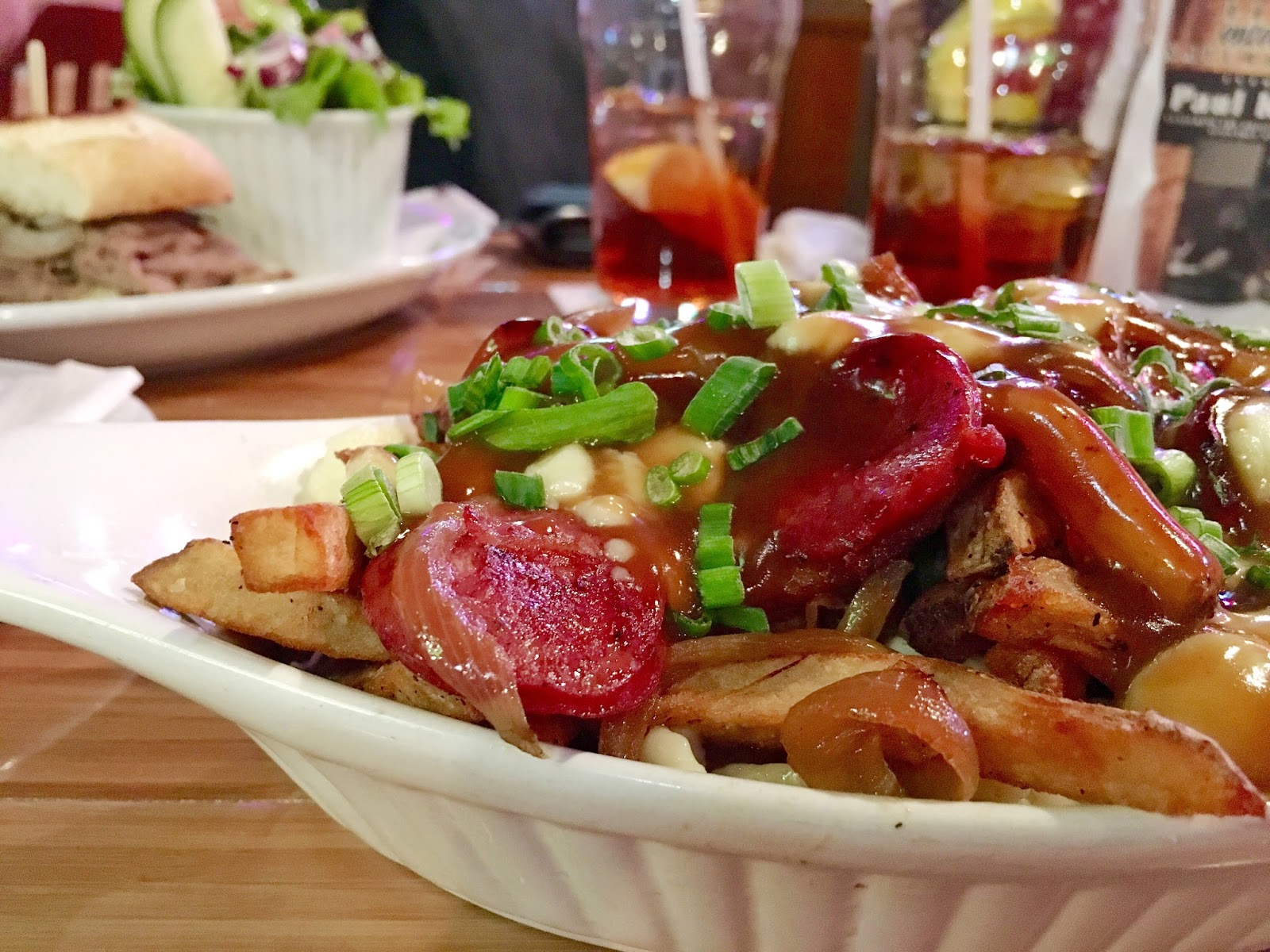 Poutine Galore at The Brass Pub