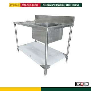 Harga Kitchen Sink stainless Steel1 Bowl