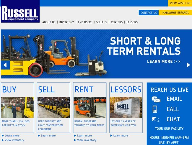 How to Buy a Used Forklifts