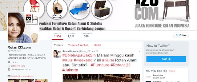 Backlink Dari Bio Profile Twitter