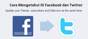 Cara Mengetahui ID Facebook dan Twitter