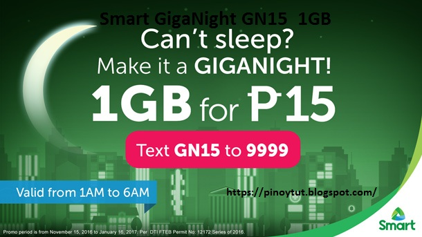 Smart GigaNight GN15  1GB Surfing