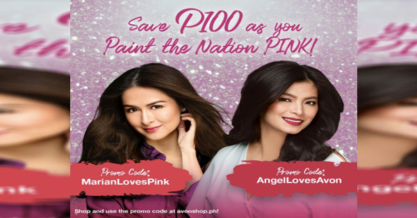 Paint the Nation PINK: GelYan On Their AVON #PinaysChoosePink and #PinkisforEveryPinay Campaign!