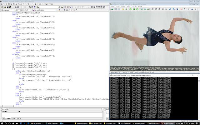 SONY ILCE-9のEXIFを解析してソースコードを打ち込んでやったゼ
