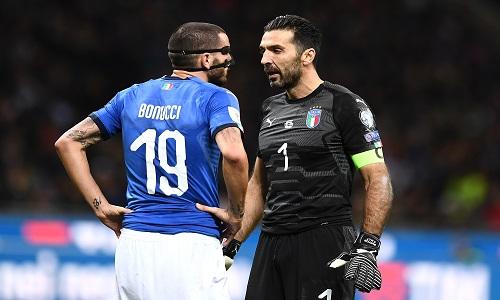 Buffon và Bonucci