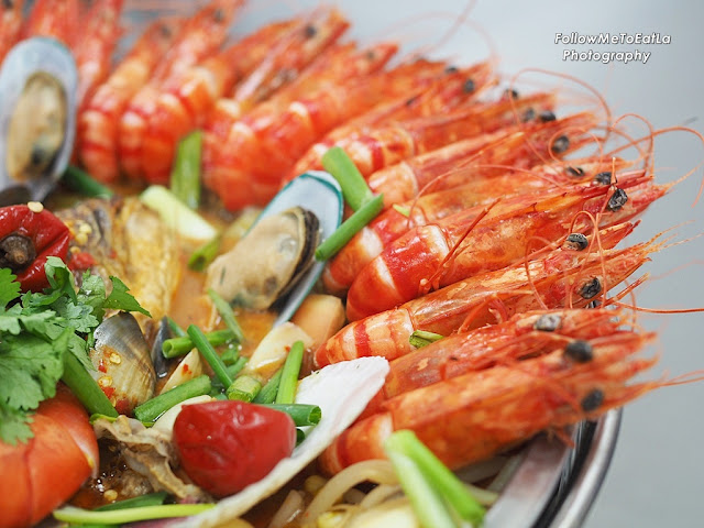 succulent and fresh prawns