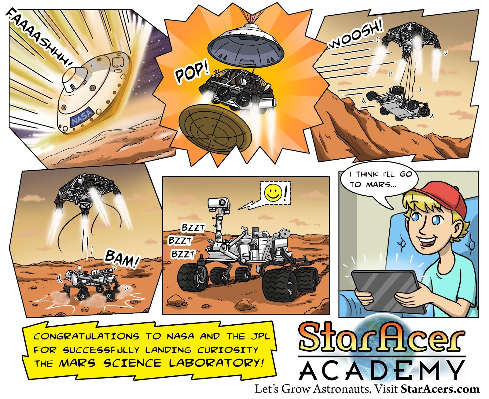 mars rover cartoon - photo #40