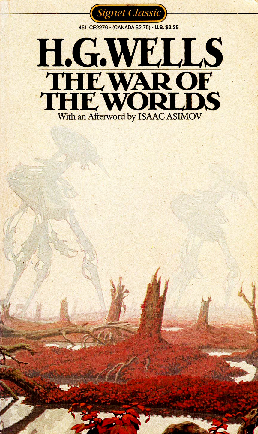 """an analysis of the novel war of the worlds by hg wells Literature: imperialism and war of the worlds  british novelist hg wells defined an entire genre with his 1898 novel, """"the war of the worlds,"""" a fantasy."""