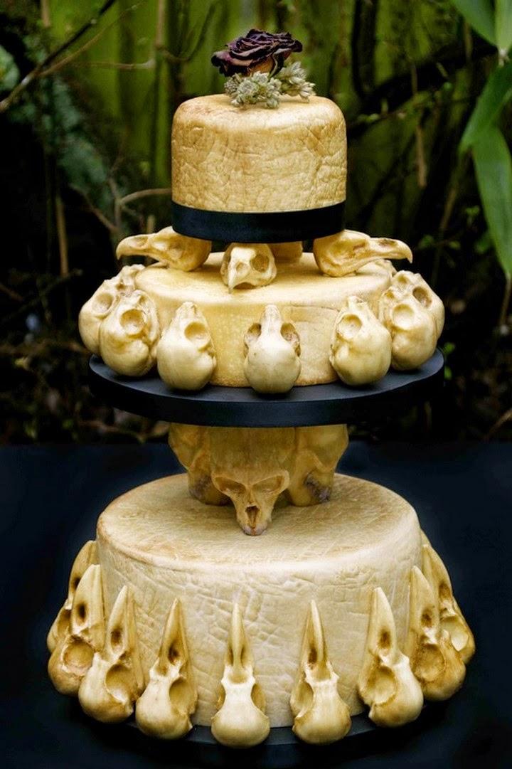 Weird Amp Crepy Cakes By Annabel De Vetten Spicytec
