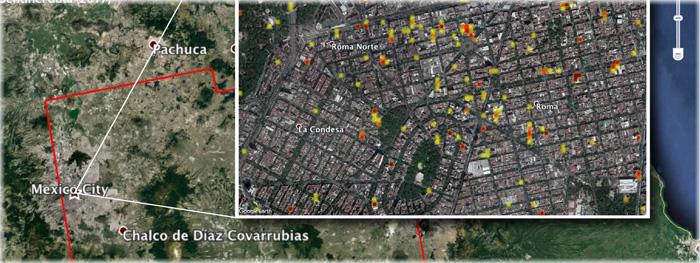 imagens de satélite mostram destruição no México após terremotos