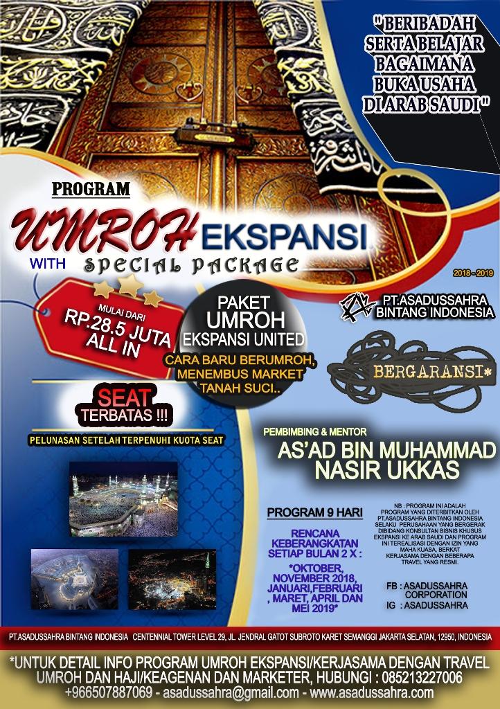 Buka Usaha di Saudi, Makkah dan Madinah