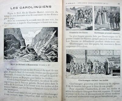 """""""Histoire de France en image"""", Claude Augé et Maxime Petit, première édition 1895 (collection musée)"""