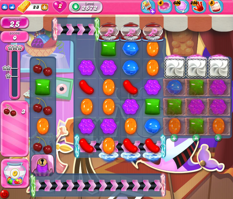 Candy Crush Saga level 2572
