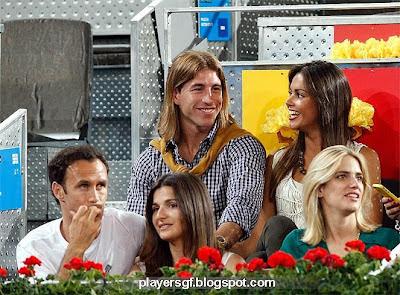Ricardo Carvalho and his girlfriend Carina