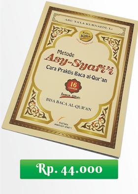 Jual Buku Cara Praktis Baca Al-Qur'an (Metode Asy-Syafi'i)
