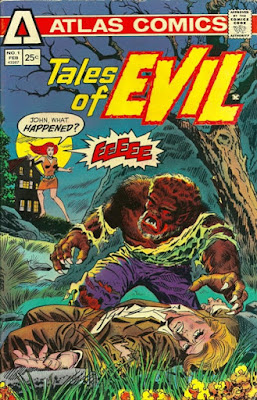 Tales of Evil #1, Atlas Seaboard