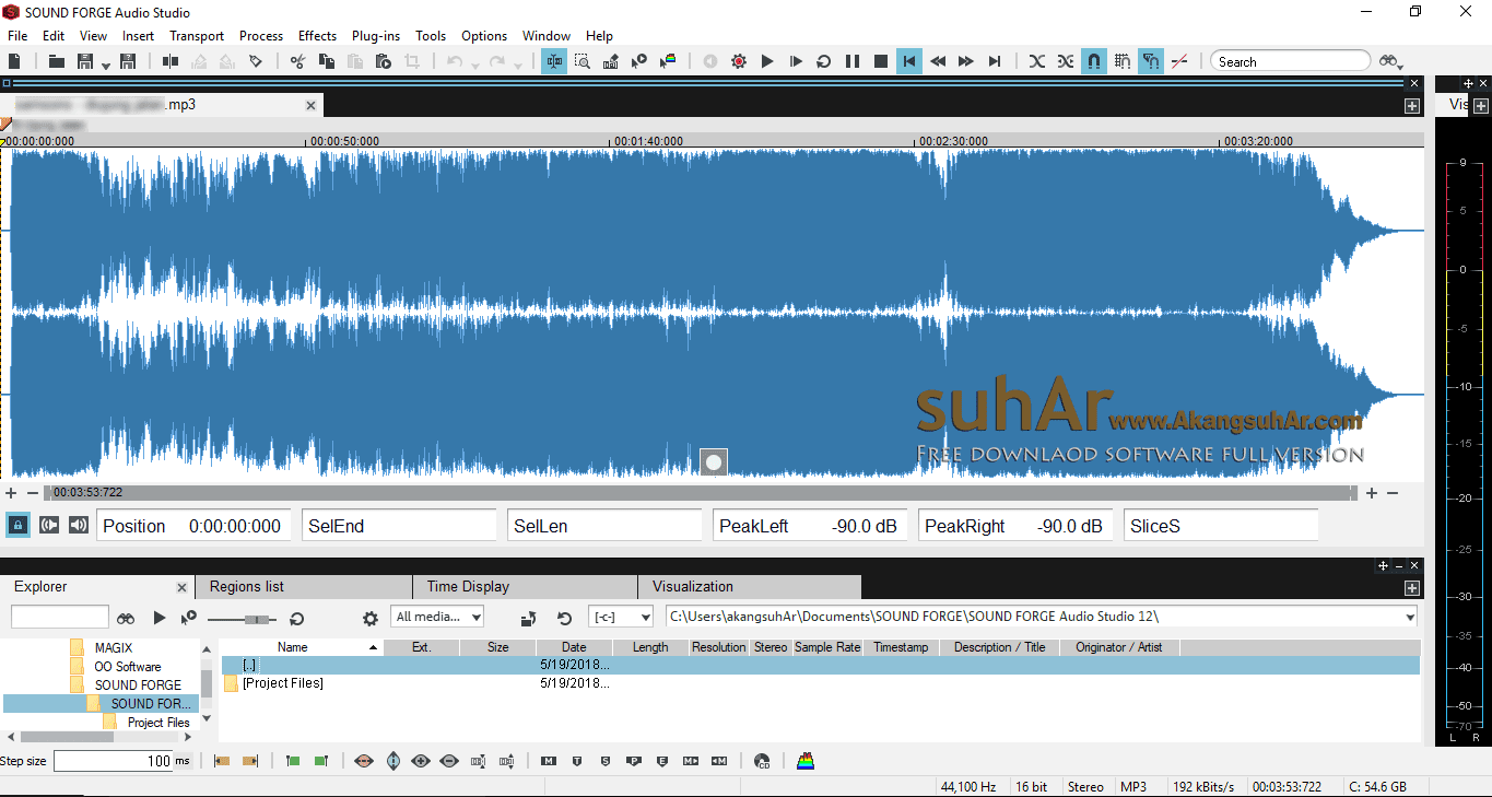 Free Download MAGIX Sound Forge Audio Studio Full Version, MAGIX Sound Forge Audio Studio Plus Serial Number